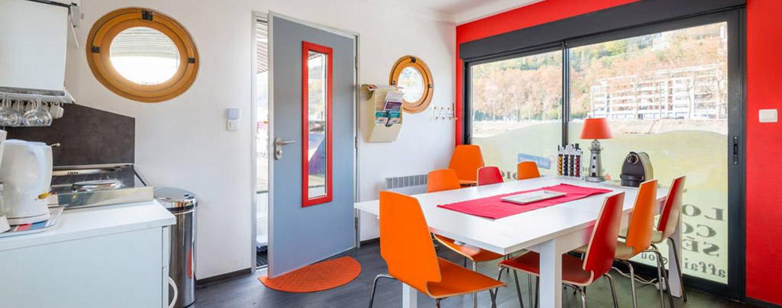 Studio Péniche au coeur de Lyon